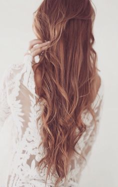Wow that's some long but very pretty hair!