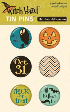 October Afternoon Halloween circles