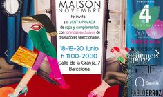 Serendipitylands: MAISON NOVEMBRE SHOWROOM BARCELONA