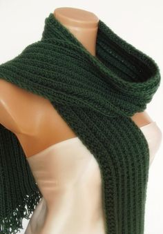 buy today get 10% discount  hand knitted Womens Mens unisex neckwarmer scarf by smilingpoet, $35.90