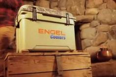 Engel DeepBlue Cooler Tan Camo Lid