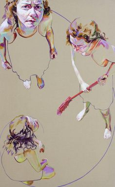 "Saatchi Art Artist: Cristina Troufa; Acrylic 2012 Painting """"Divine"""""