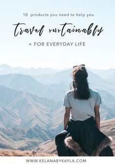 Eco-Friendly Travel Products You Need To Travel More Sustainably (and for everyday life) - Zero Waste Travel Essentials For A Lighter Footprint Travel Advice, Travel Guides, Travel Tips, Travel Packing, Travel Hacks, Packing Lists, Fun Travel, Travelling Tips, Vacation Travel