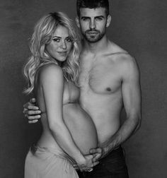 Shakira Joins The Nude Pregnant Photo Bandwagon…But For A Good Cause
