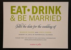 Love the colors in this save the date offered by #CreativePapersLtd
