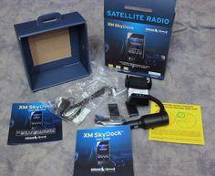 XM XVSAP1V1 SkyDock In-Vehicle Satellite Radio iPhone iPod touch Charger Sirius #SiriusXM