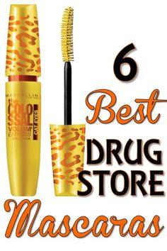 6 Best Drugstore Mascaras