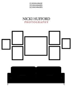 picture wall for living room or bedroom