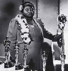 Hattie McDaniel At The Academy Awards--The video if her accepting her award is such a beautiful moment in history!