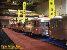 All roads lead to the Florida RV Super Show each January and so does snowbirdrvtrails.com. Rv Show, The Fl, Roads, Maine, Restaurants, January, Florida, Country, Road Routes