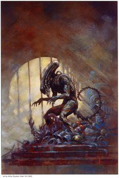 Alien³ #2 (1992) Art by Arthur Suydam