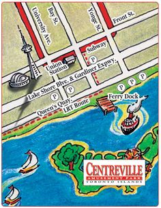Centreville Amusement Park - How to Get There