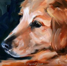 Gentleness, painting by artist Crystal Cook