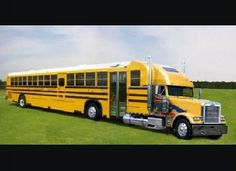 Big Rig School Bus