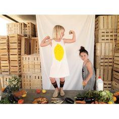 BOBO CHOSES Dress Lemon - Lilla Mode