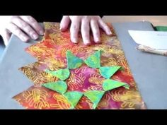 Englisches Paper Piecing - Tipps und Tricks Country Rose Quilts - YouTube