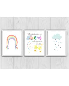 Check out this item in my Etsy shop https://www.etsy.com/ca/listing/614807543/rainbow-nursery-decor-rainbow-baby-decor