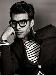 Retro-Modern Menswear Shoots - The Jon Kortajarena GQ France Editorial is Sharply Dressed (GALLERY)