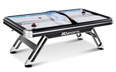 MD SPORTS Air Powered Hockey Table Air Hockey, Poker Table, Game Room, Board Games, Tables, Sports, Art, Mesas, Hs Sports