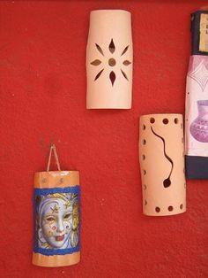 Lámparas en cerámica                                     para paredes