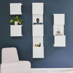 From Anne Linde we present different Showcase shelves which are perfect to combine! Here are Showcase#0, 1 and 3. Love these and own one :) #eniito #annelindedk #shelves #scandinavianstyle #nordicdesign #danishdesign #interiorstyle #interiorstyling #homedecoration #homedecor