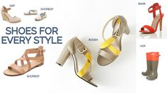 Shoes for every style by shoppingpicks.com. Pick and shop!