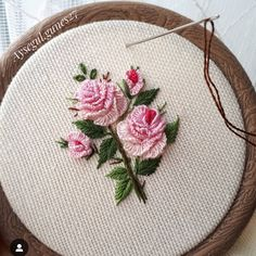 Embroidery Boutique time Embroidery Hoop How To both Embroidery Library Easter; Embroidery Stitches Notes all Embroidery Designs For Sale Hardanger Embroidery, Silk Ribbon Embroidery, Cross Stitch Embroidery, Brazilian Embroidery Stitches, Learn Embroidery, Embroidery Flowers Pattern, Hand Embroidery Designs, Embroidery Supplies, Embroidery Kits