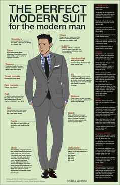 perfect modern suit