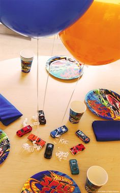 Looking for a party theme as extreme as your kid's favorite Hot Wheels cars? Level up for your little one and use Hot Wheels cars as balloon weights at their next party!
