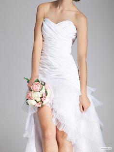 wedding ideas Layered Organza Little White Dress $198.98