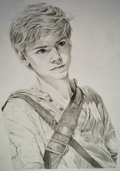 Thomas Brodie-Sangster as Newt (3) by Lykai-Hime on DeviantArt