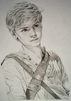 Thomas Brodie-Sangster as Newt (3) by Lykai-Hime on DeviantArt