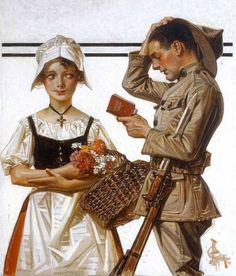 Joseph Christian Leyendecker (March 23, 1874 – July 25, 1951) was one of the pre-eminent ...