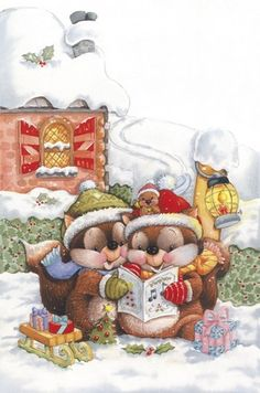 Chipmunk Christmas Carol