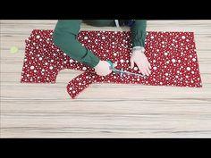 PRATİK BELİ LASTİKLİ ELBİSE KESİMİ / DİKİMİ - YouTube Dress Sewing Patterns, Sewing Patterns Free, Sewing Tutorials, Sewing Projects, Knitting Videos, Free Knitting, Sewing Pants, Abaya Fashion, Bargello