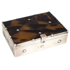 William Spratling Silver and Tortoise Box at 1stdibs