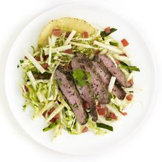 Steak Taco #Recipe. #lowcal