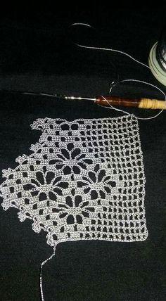 One miniature crochet square doily 4 cm, dollhouse miniature decoration Crochet Boarders, Crochet Lace Edging, Crochet Doily Diagram, Love Crochet, Crochet Gifts, Vintage Crochet, Crochet Doilies, Hand Crochet, Crochet Baby