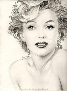 Marilyn Monroe by *georginaflood