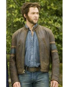 X men animal skin biker jacket may be a complete duplicate of known jacket worn by Hugh Jackman in his all time nice hit moving picture X-MEN. X men animal skin biker jacket is Associate in Nursing exceptional quality duplicate for its value. X men animal skin biker jacket created with 100 percent cowhide animal skin.