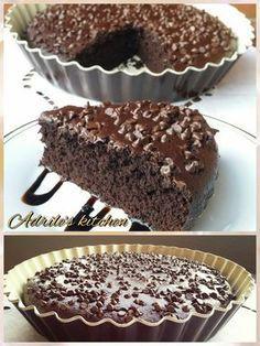 Torta brasiliana (senza uova e senza burro) Italian Desserts, Vegan Desserts, Delicious Desserts, Cupcakes, Cake Cookies, Sweets Recipes, Cake Recipes, Sweet Light, Torte Cake