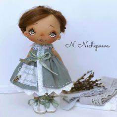 Dolls by N. Nechepaeva