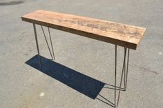 Hey, I found this really awesome Etsy listing at https://www.etsy.com/listing/105470999/entry-table-colombian-ambrosia-maple