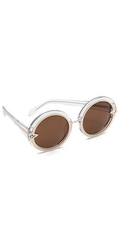 Karen Walker Orbit Sunglasses | SHOPBOP