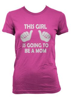 This Girl is Going to be a Mom Maternity t shirt pregnancy shirt S-4XL via Etsy