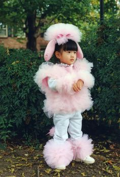 {Pink Poodle Costume} cuteness overload