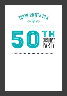 awesome best free printable birthday invitation templates free idea
