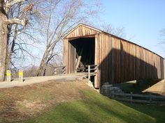 Burfordville Covered Bridge in Missouri, 1858.  One of only four covered bridges remaining in Missouri!  VisitCape.com has all the info to get you there!
