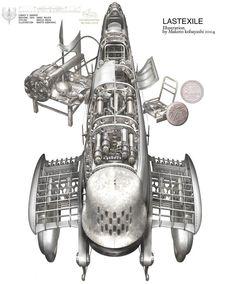 Rocketumblr | 小林誠 Makoto Kobayashi Last Exile
