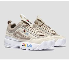 premium selection 43b88 f6033 Fila Disruptors, Dad Sneakers, Cute Sneakers, Baskets, Fila Outfit, Vans,  Custom Shoes, New Shoes, Sock Shoes